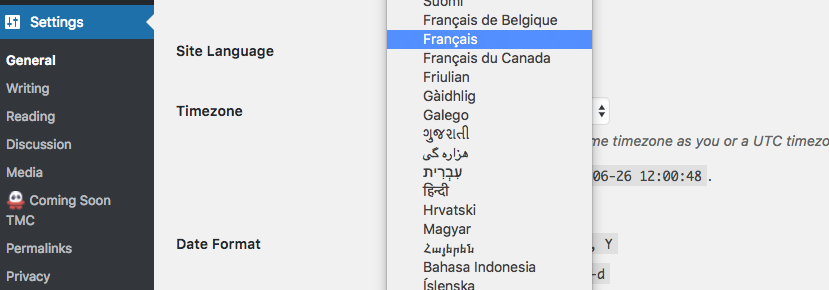 Can't change language in settings – general. How to fix this?